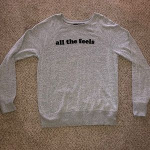 A&F All The Feels Sweatshirt